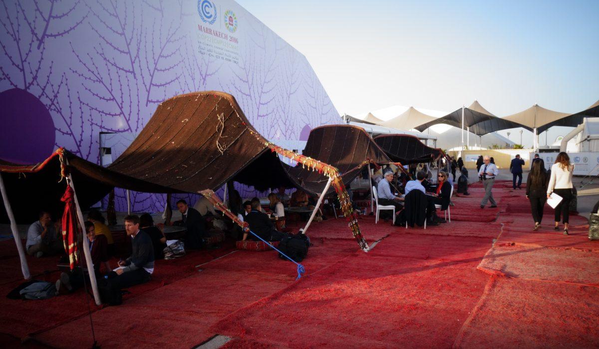 La COP22, 22e conférence des Nations Unies sur le climat, à Marrakech.