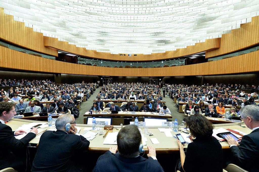 Négociations sur les changements climatiques à Genève,