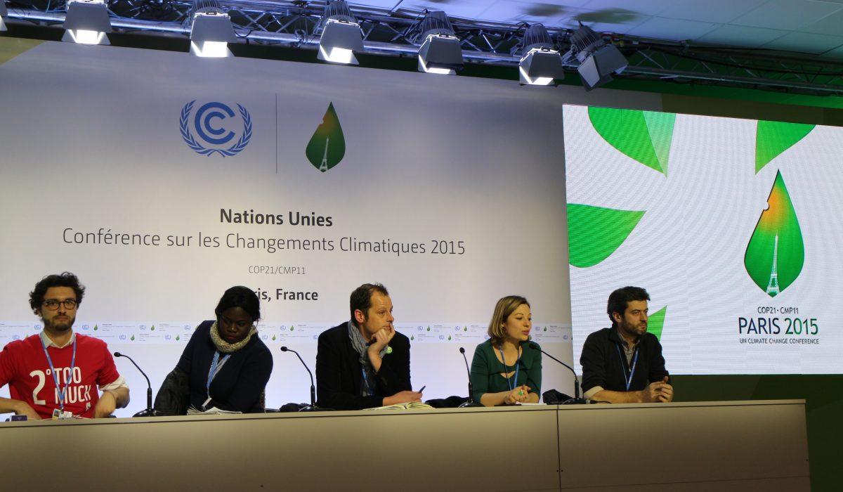Conférence de presse COP21 - Réseau Action Climat