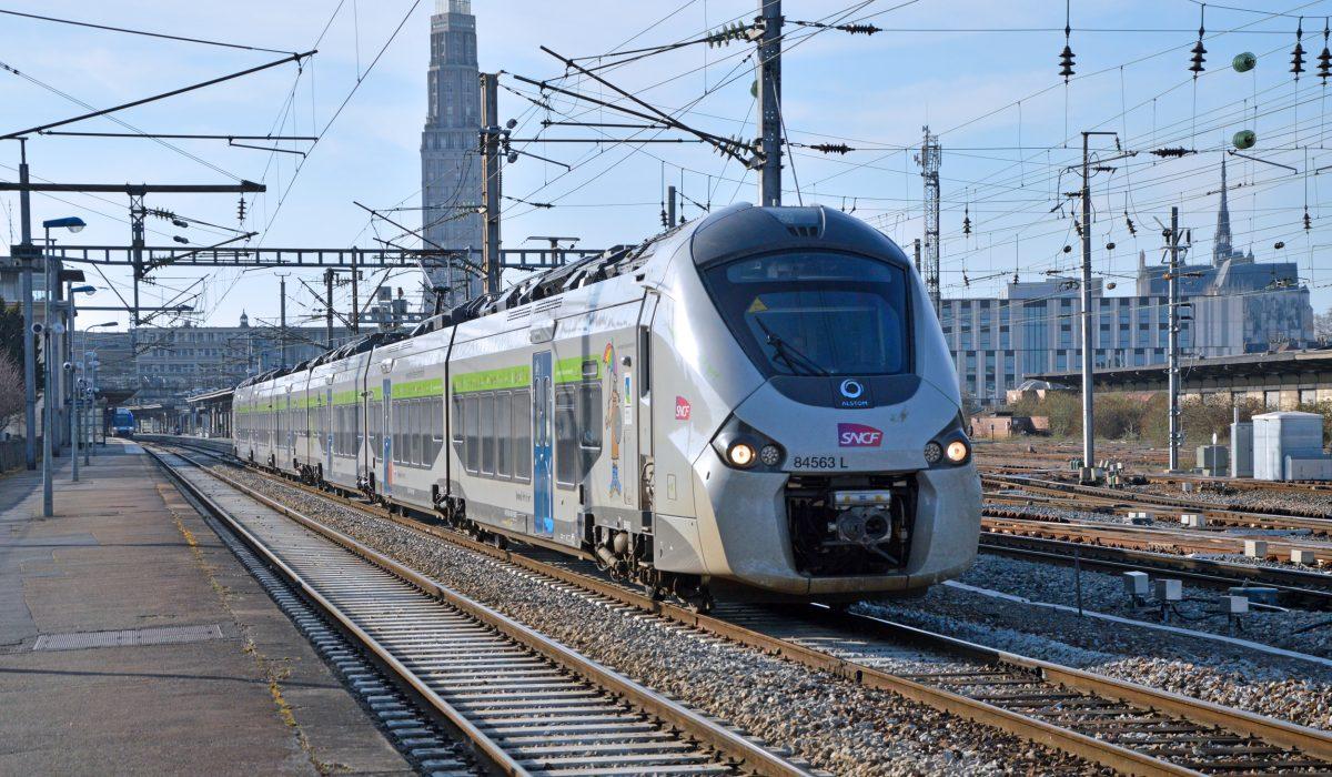 Ligne Intercité - Boulogne / Amiens / Paris.