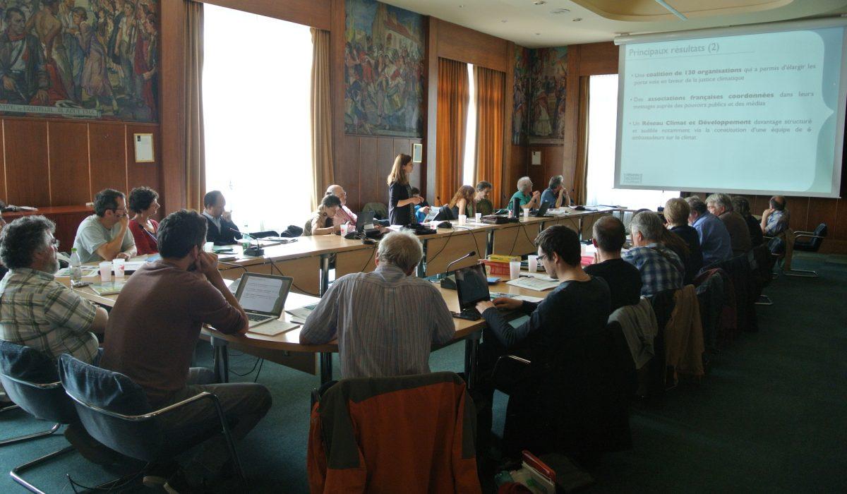 Assemblee Generale du Reseau Action Climat - 2016