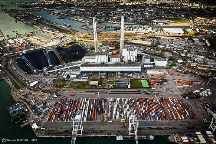 Centrale charbon du Havre