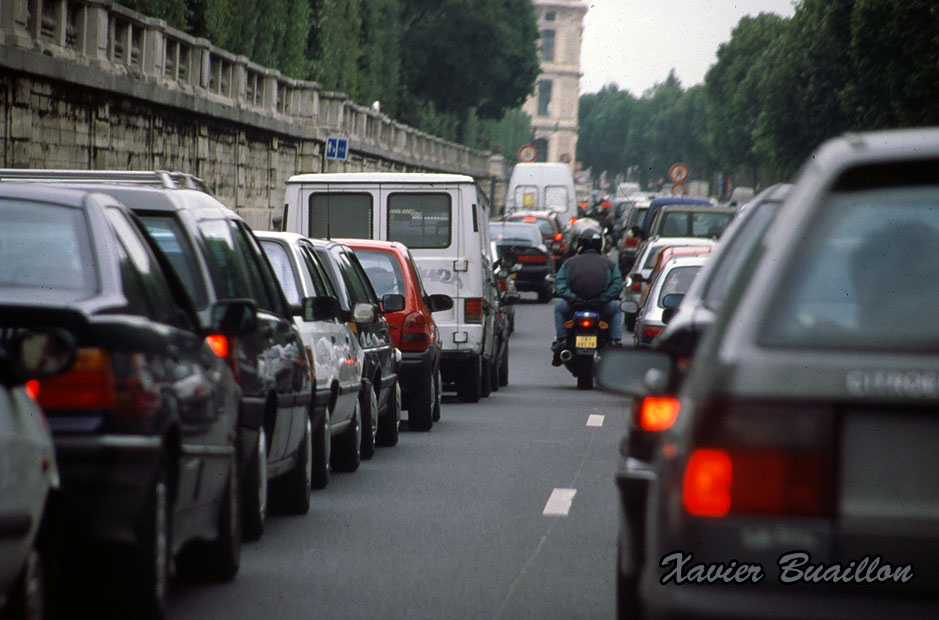 Embouteillage à Paris