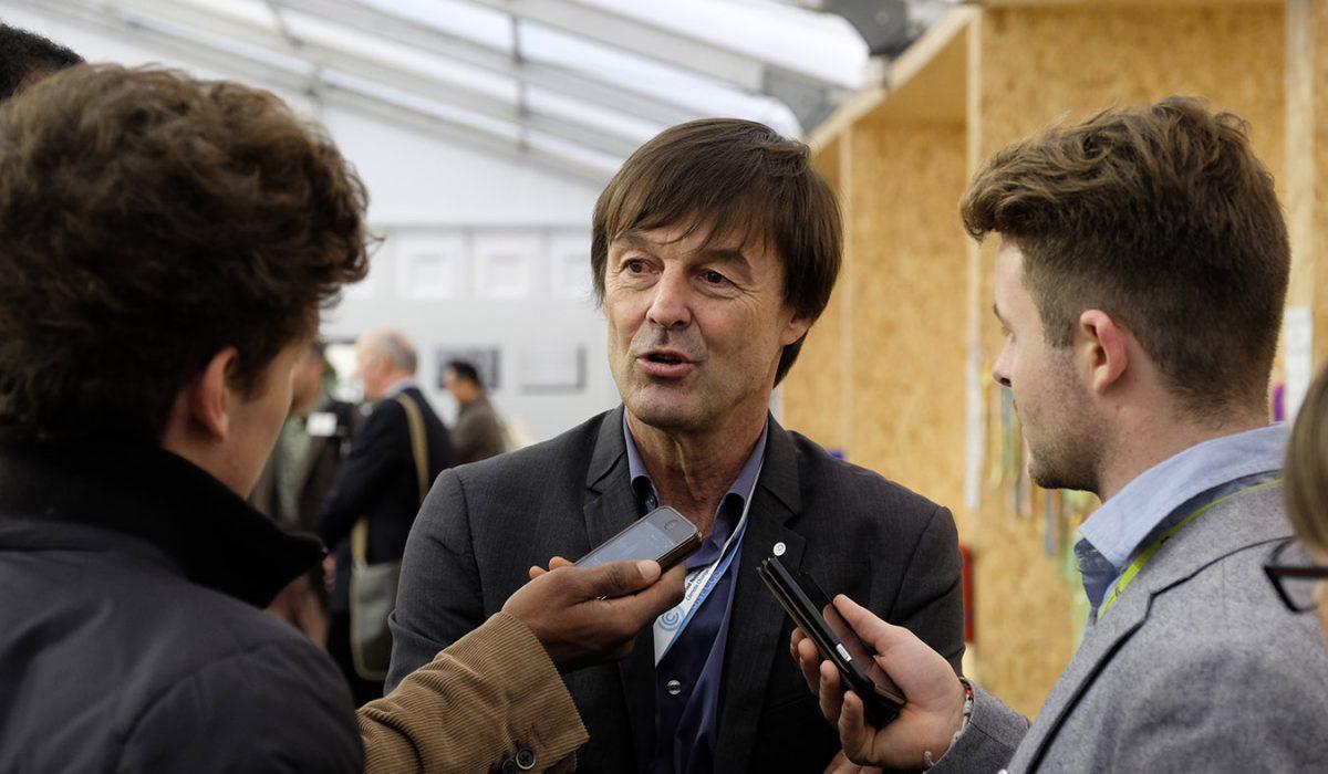 Nicolas Hulot - Ministre de la Transition écologique et solidaire