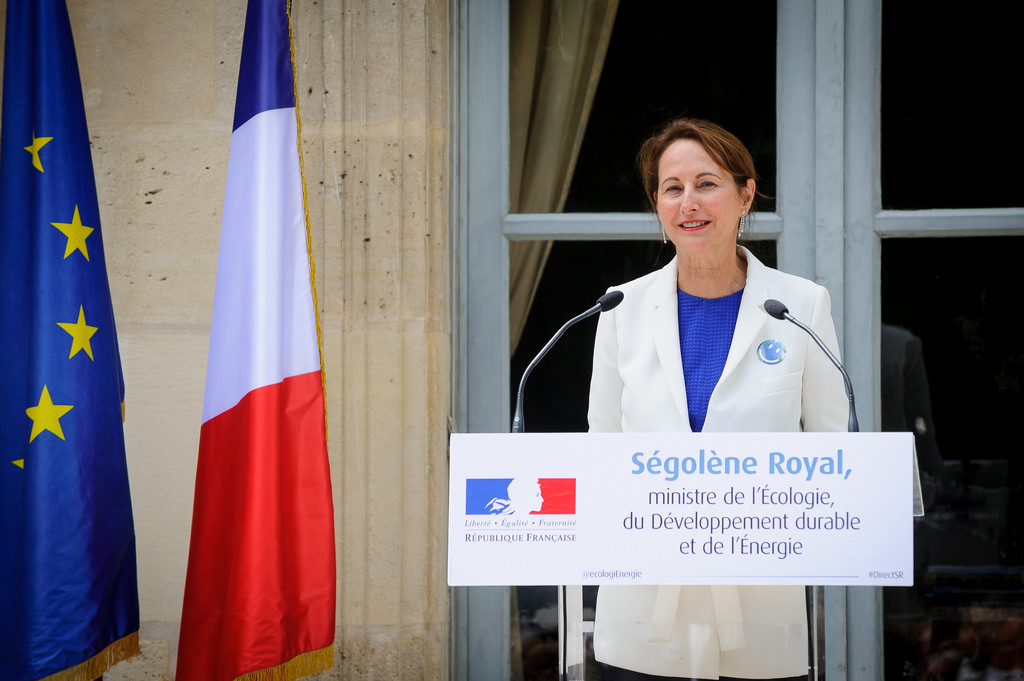 Segolène Royal, ministre de l'Écologie, du Développement durable et de l'Énergie.