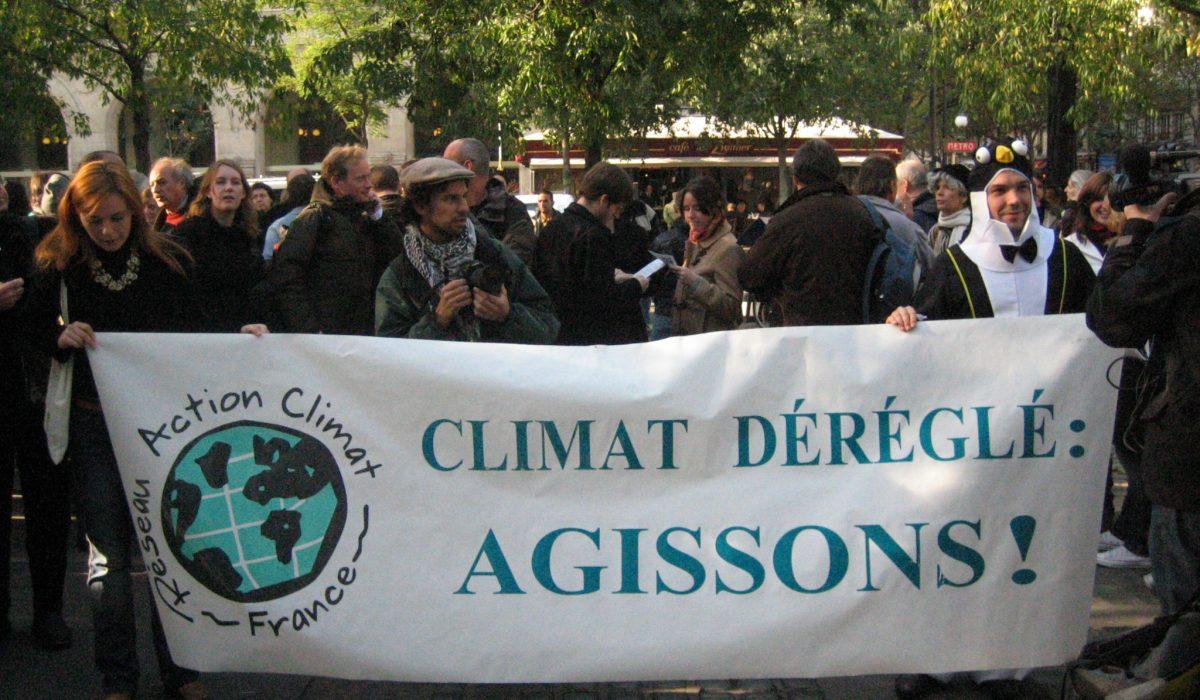 Manifestation pour le climat, 2006