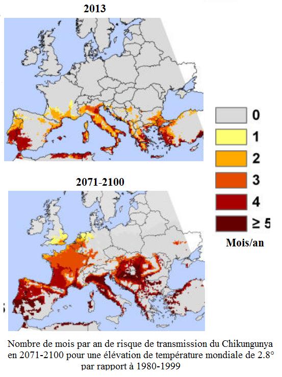 Carte Climat Europe 2050.Le Changement Climatique Favorise La Propagation De L