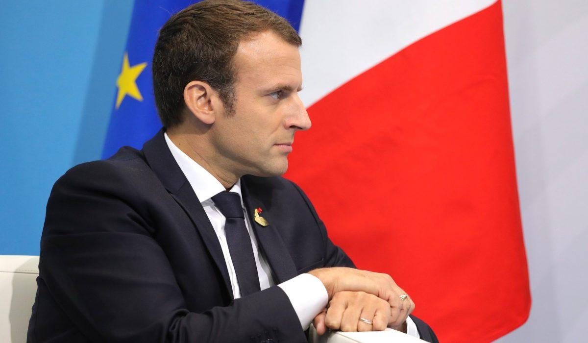 Emmanuel Macron  (Source Пресс-служба Президента Российской Федерации)