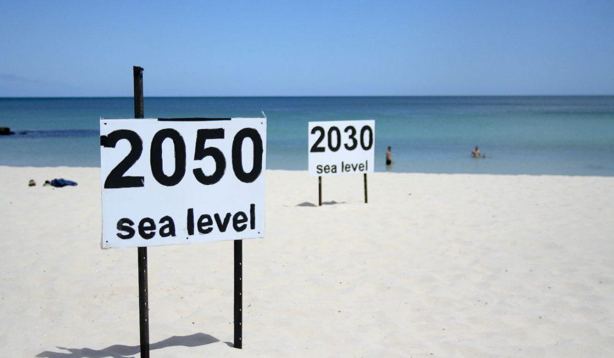 Hausse du niveau des mers en 2050