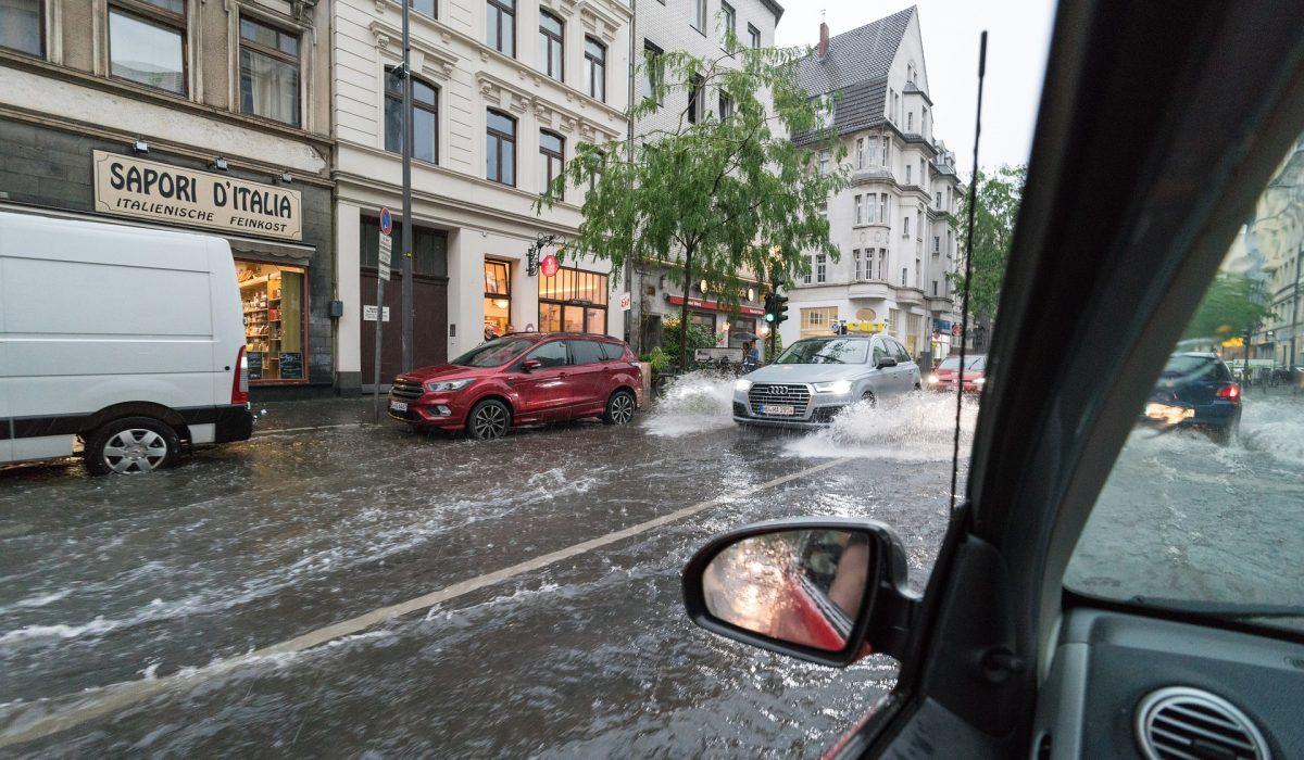 Inondation urbaine