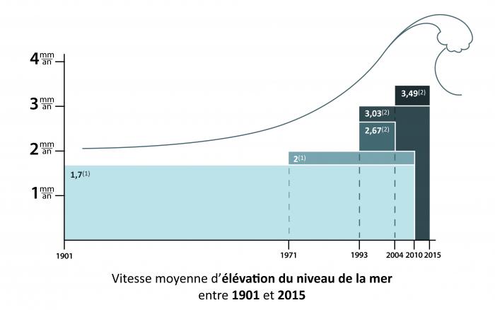 elevation-du-niveau-de-la-mer-1901-2015-vitesse